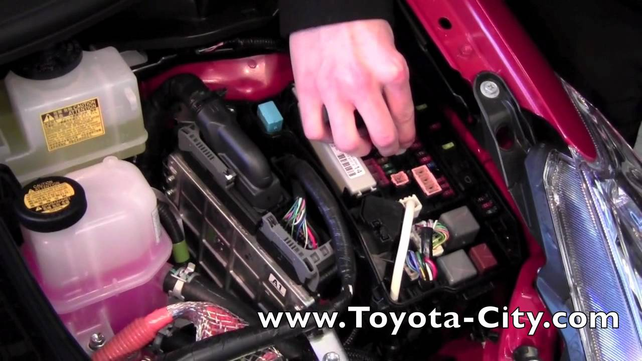 hight resolution of 2012 toyota prius v fuse box how to by toyota city minneapolis mn youtube