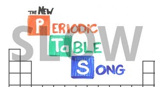 "Slow ""the New Periodic Table Song (in Order)"" (asapscience 2013)"