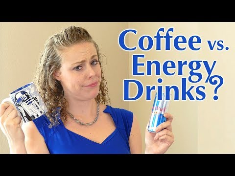 Coffee or Energy Drinks? How to have MORE ENERGY! Healthy Energy Drinks?  Health Tips