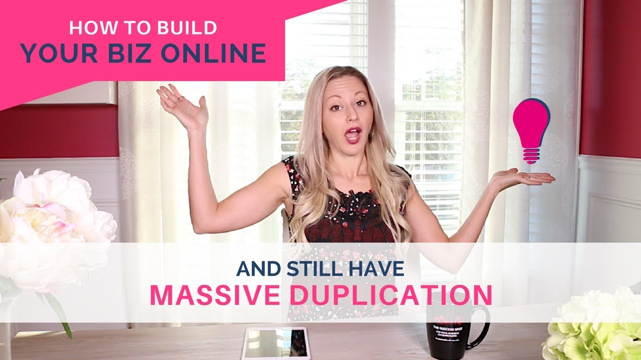 Network Marketing Tips - How To Build Your Business Online And Still Have Duplication