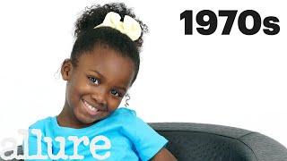 100 Years of Girls Hair  Allure