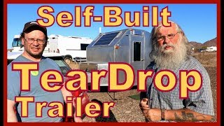 Self-Built Teardrop Trailer