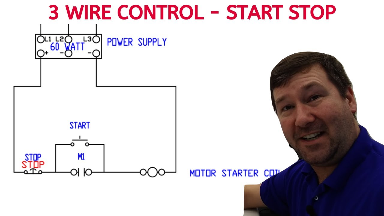 3 Wire Start Stop Ladder Diagram Power Plant Overview Diagram 7ways Yenpancane Jeanjaures37 Fr