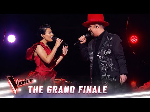 The Grand Finale: Boy George and Diana Rouvas sing 'Send In The Clowns' | The Voice Australia 2019