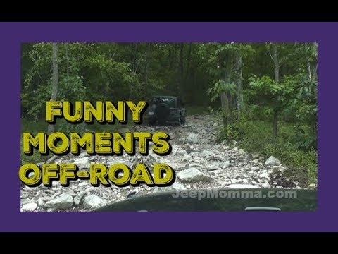 Jeep Off Road at Rausch Creek - Funny Moments Part 2