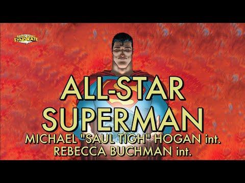 "ALL-STAR SUPERMAN, Michael ""Saul Tigh"" Hogan & Rebecca Buchman!  COMIC BOOK SYNDICATE"