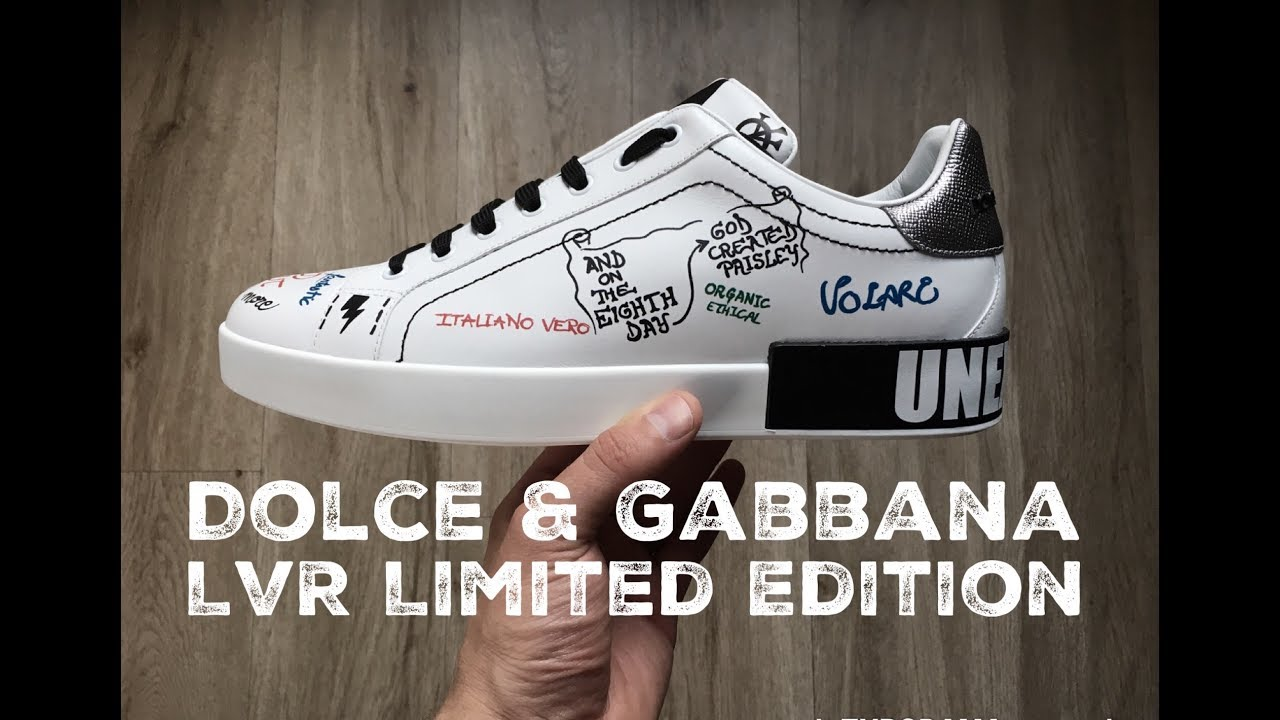Dolce & Gabbana 'LVR Limited Edition' | UNBOXING & ON FEET | luxury shoes | F/W 2017 | HD