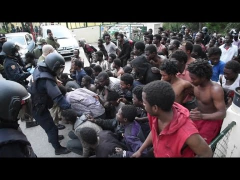 Migrants storm Spain's North African territory of Ceuta