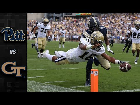Pitt vs. Georgia Tech Football Highlights (2017)