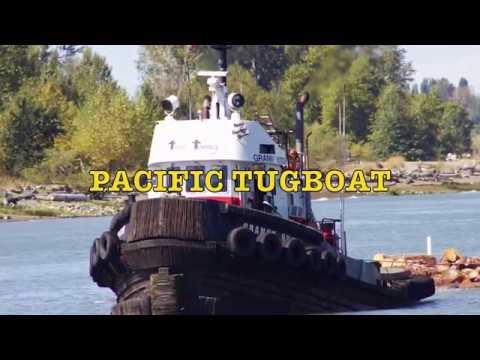 PACIFIC tugboat GRANNY HUTCH & HARKEN no 6 summer 2017