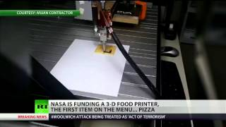 NASA Tries To Produce 3D-printed Pizza