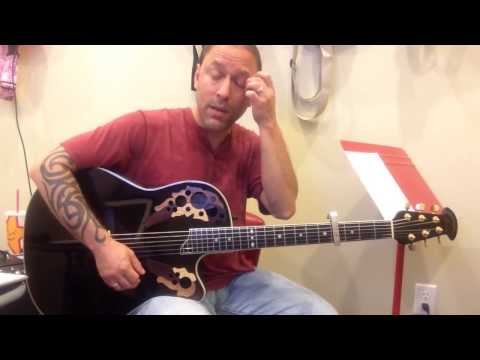 Steve Stine Easy Guitar Lesson - Learn How to Play Red by Taylor Swift