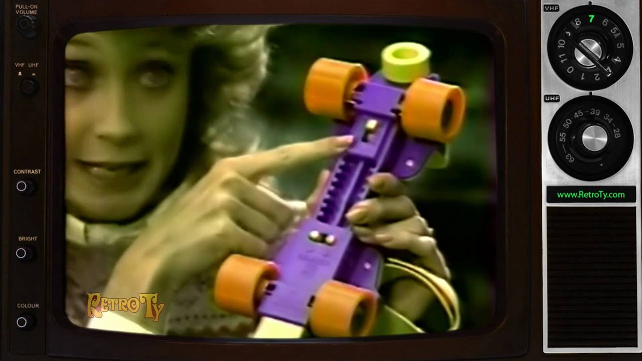 1984 - Fisher Price Roller Skates - YouTube