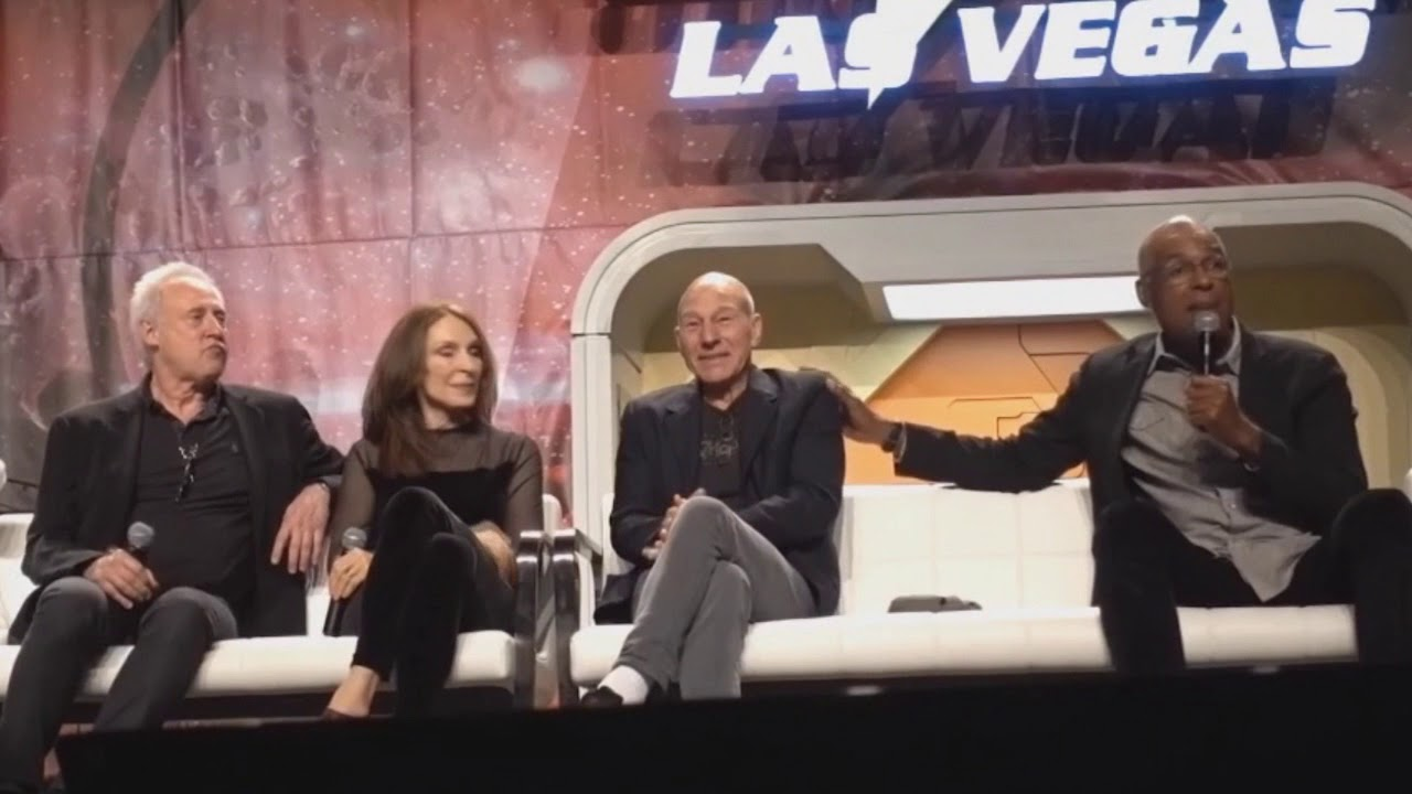 Michael Dorn and Brent Spiner funniest story behind the scenes of Star Trek TNG