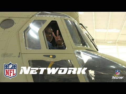 DeMarcus Ware Visits the Troops | Talk Now | NFL Now