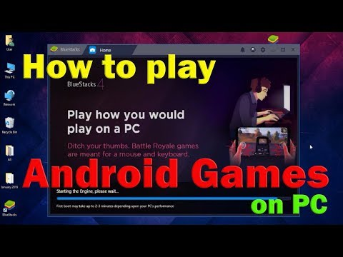 How To Play Any Android Games On PC Using Android Emulator Bluestacks | Just Genius - Jgytcv