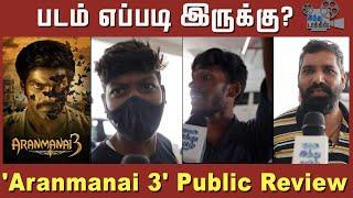 aranmanai-3-public-review-aranmanai-3-review-aranmanai-3-fdfs-review-arya-andrea-khushbu-raashi-khanna-sakshi-agarwal-vivek-sundar-c-hindu-talkies