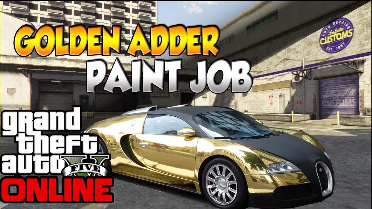 gta v how to get a golden adder works online youtube. Black Bedroom Furniture Sets. Home Design Ideas