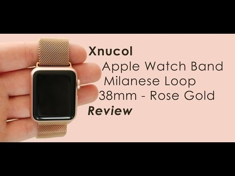 xnucol-apple-watch-band-stainless-steel-38mm-rose-gold-review