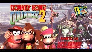 🔴LIVE: DONKEY KONG COUNTRY 2 - Direto do SNES!! - Até zerar?...