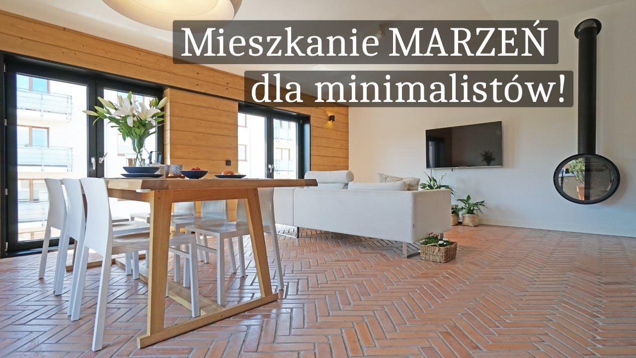 Oglądamy Mieszkanie W Stylu Loft Z Cegłą Salon Z Kuchnią Styl Industrialny Projekt Wnętrz Cegła
