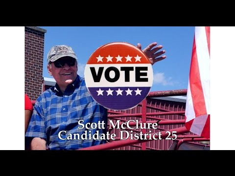 Scott McClure District 25 - Education