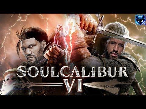 Mighty Mouse vs Rampage Jackson Soul Calibur 6 IGN Tournament