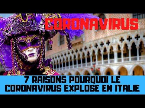 7 raisons pourquoi l'épidémie de coronavirus explose en Italie