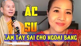 Ca sД© Anh Chi vбєЎch mбє·t Д'am ac sЖ° ThГch ChГўn Quang lГ tay sai cho Trung Cб»™ng