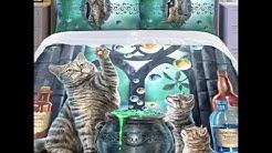 Cat duvet bedding from Noveltex UK lisa Parker