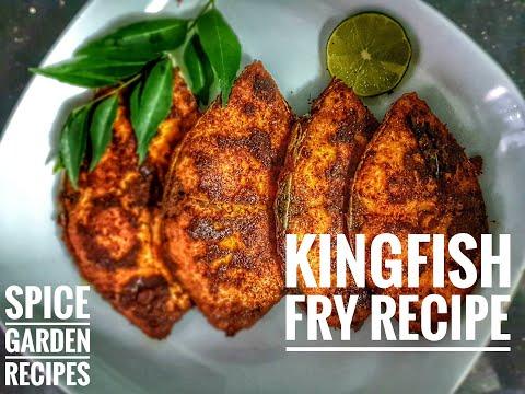 KingFish Fry Recipe | Spice Garden Recipes