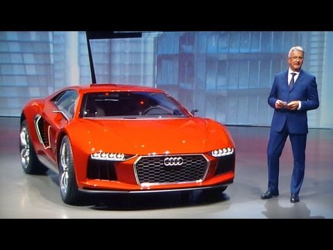 Audi nanuk quattro concept, first presentation