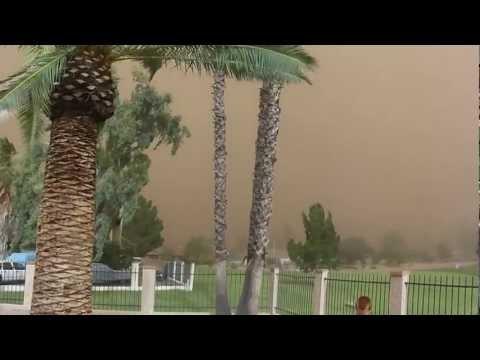 7-21-12 Dust Storm Mesa Arizona