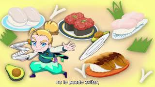 "Sushi Striker: The Way of Sushido: ""Sushi No. 1"" con subtítulos en español latino"