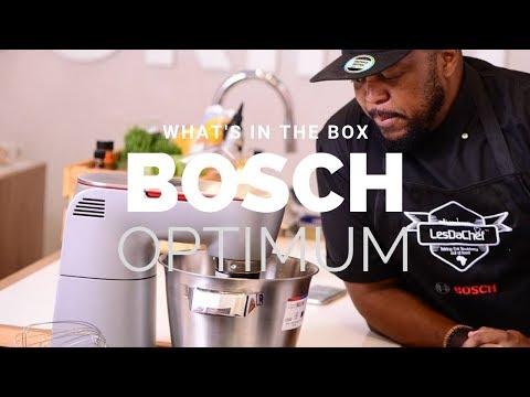 Unboxing the Bosch Optimum