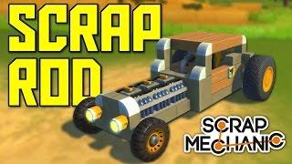 Как сделать двери на машине в Scrap Mechanic