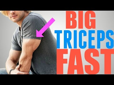 3 Exercises to Get Big MUSCULAR Triceps FAST