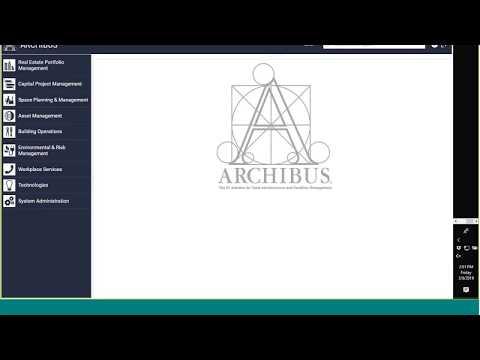 FM Study Hall: Simplifying ARCHIBUS Navigation