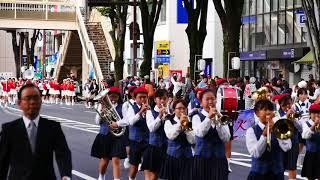 2017_大室・荒子小学校_前橋まつり鼓笛吹奏楽パレード7A10-11