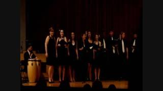 FSU Vocal Jazz Ensemble - Bim Bom