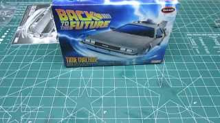 Polar Lights 1/25 Back to the Future Time Machine Model Kit Review