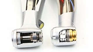 Difference between turbine handpiece and speed-increasing handpiece (English)
