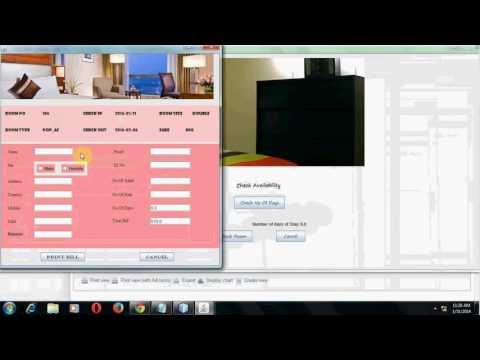 Develop a desktop application using Java in Netbeans for Hotel - JAVA Programmer