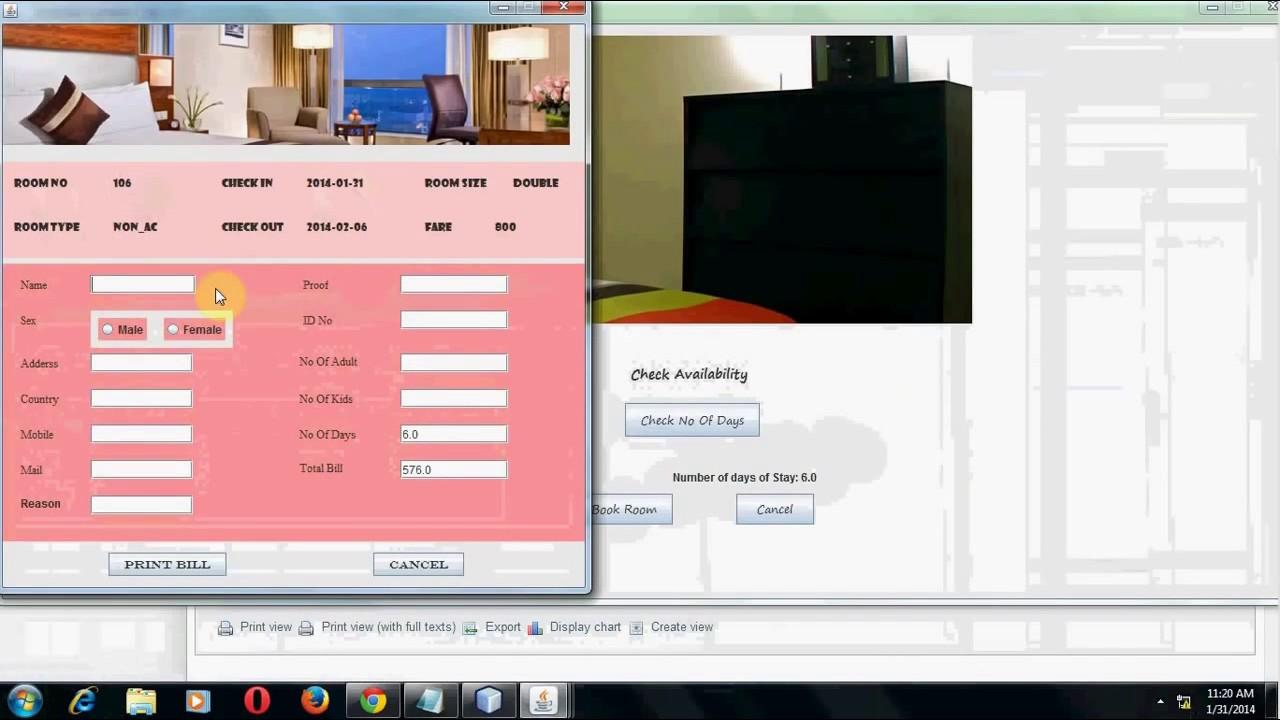 Develop a desktop application using Java in Netbeans for ...