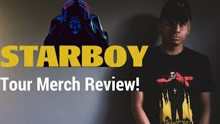 STARBOY Merch Review