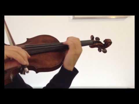 17th Century French Master Violin Jean-Baptiste Salomon part2