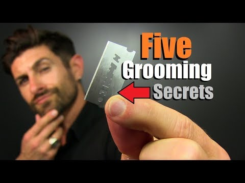 5 Grooming Secrets ONLY Handsome Men Know!