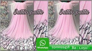 Satin patta Sarees with price 1050  whatsapp 9502099458 || sarees buy online || stain patta sarees