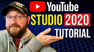 How To Use YouTube Studio 2020