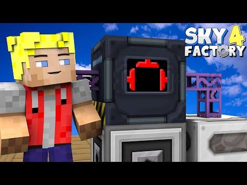Komplettes AE2 Autocrafting! - Minecraft Sky Factory 4 (Prestige Mode) - #38 - Deutsch